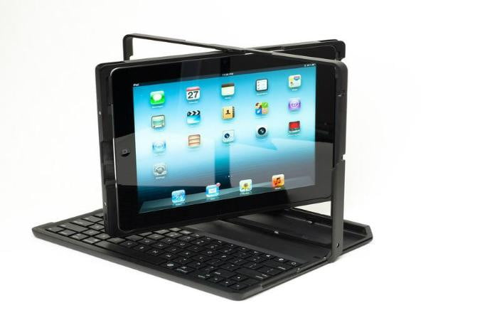 the pi dock it pro ipad case gives ipads laptop mode qwerty keyboard digital trends. Black Bedroom Furniture Sets. Home Design Ideas