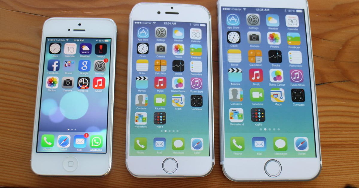 iphone 6 plus resolution iphone 6 plus size comparison here s how big it is 15038