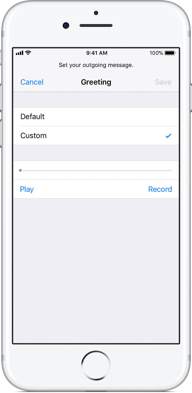 iphone voicemail setup learn how to set up voicemail on an iphone 12448
