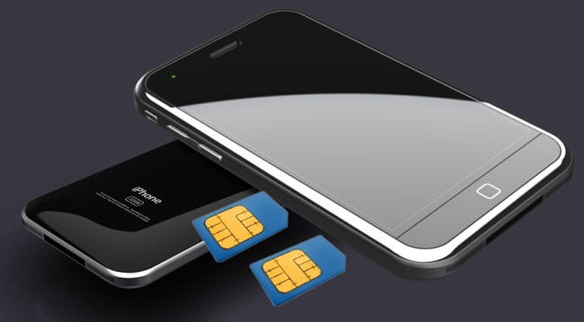 do iphones have sim cards will iphone 5 hold dual sim cards we think not digital 2074