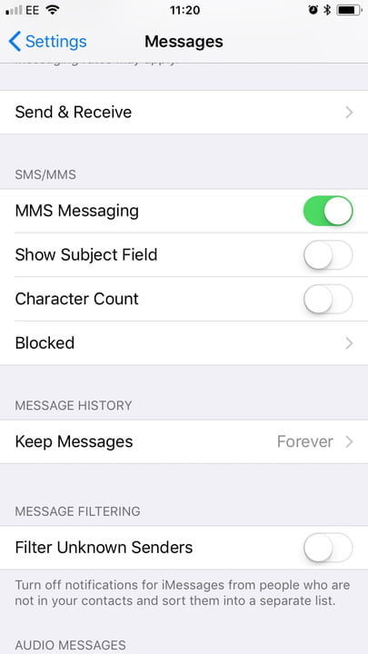 how to block text messages in ios and android iphone texts 2