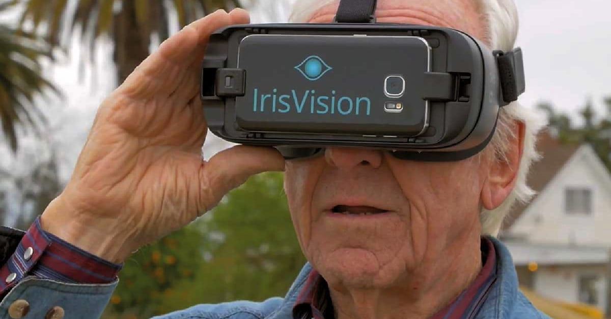 Irisvision Uses Vr To Help People With Macular
