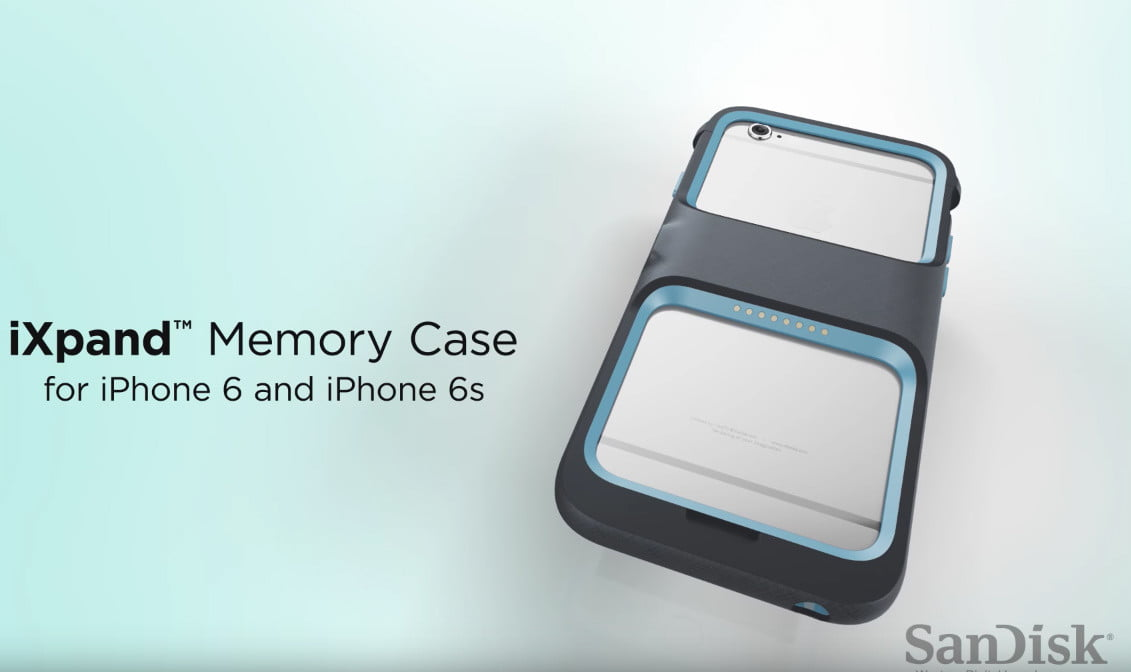 new product b9cd8 977ef SanDisk's iPhone Storage Case Offers an Extra 128GB | Digital Trends