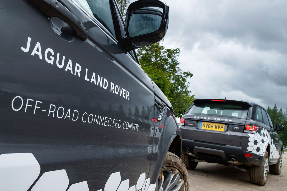 2016 jaguar land rover technology showcase