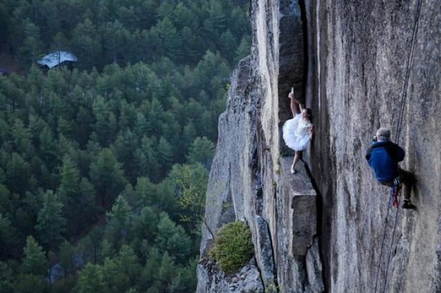 photographer jay philbrick adds dramatic effect placing subjects on ledge 1