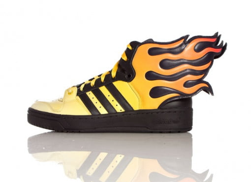 99bb6582ca80 Jeremy Scott Flames by Adidas Originals both ridiculous and awesome ...