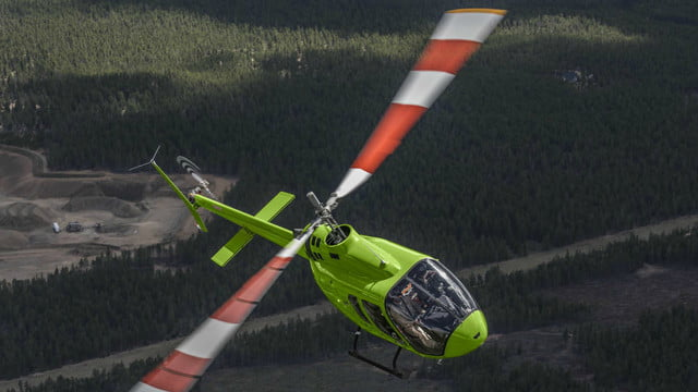 most expensive helicopters jet ranger x 2