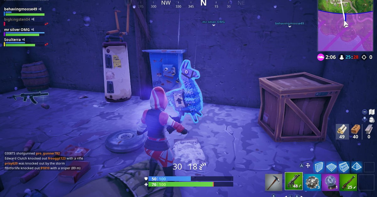 Fortnite 'Search Jigsaw Puzzle Pieces in Basements ...