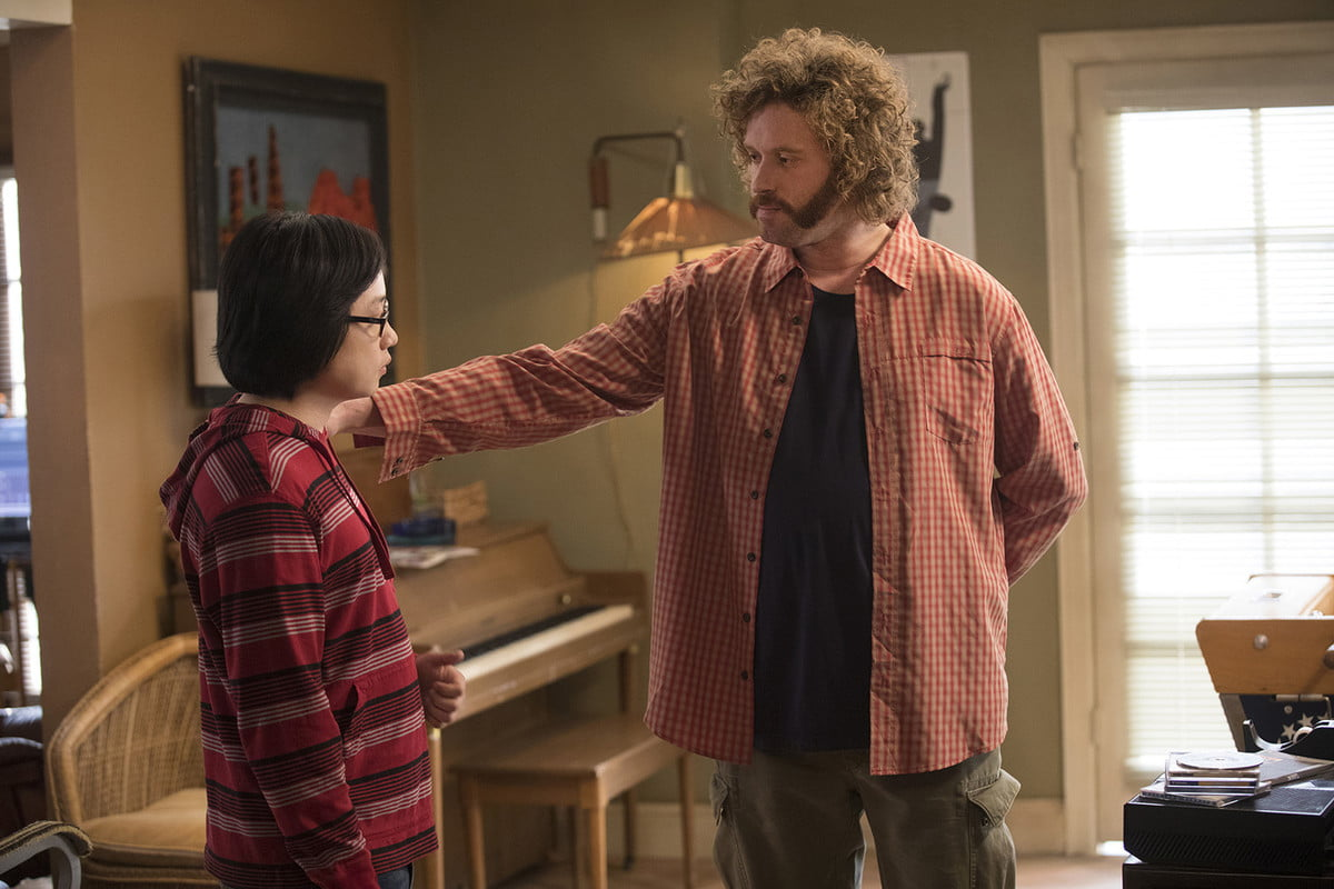 Jimmy O. Yang with TJ Miller