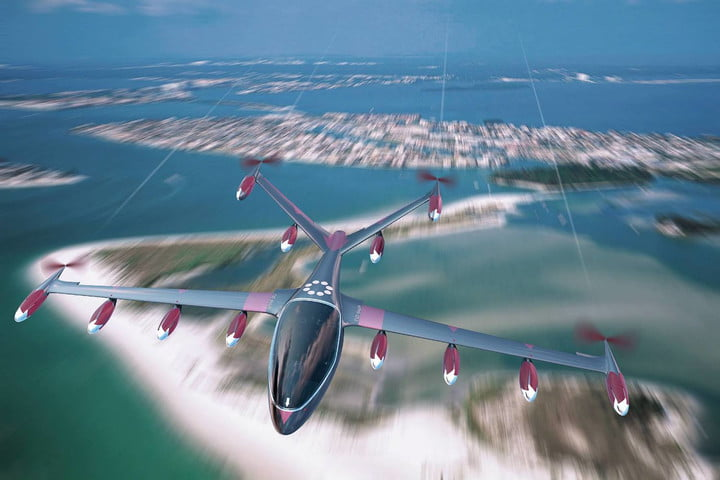 electric flying taxi joby aviation