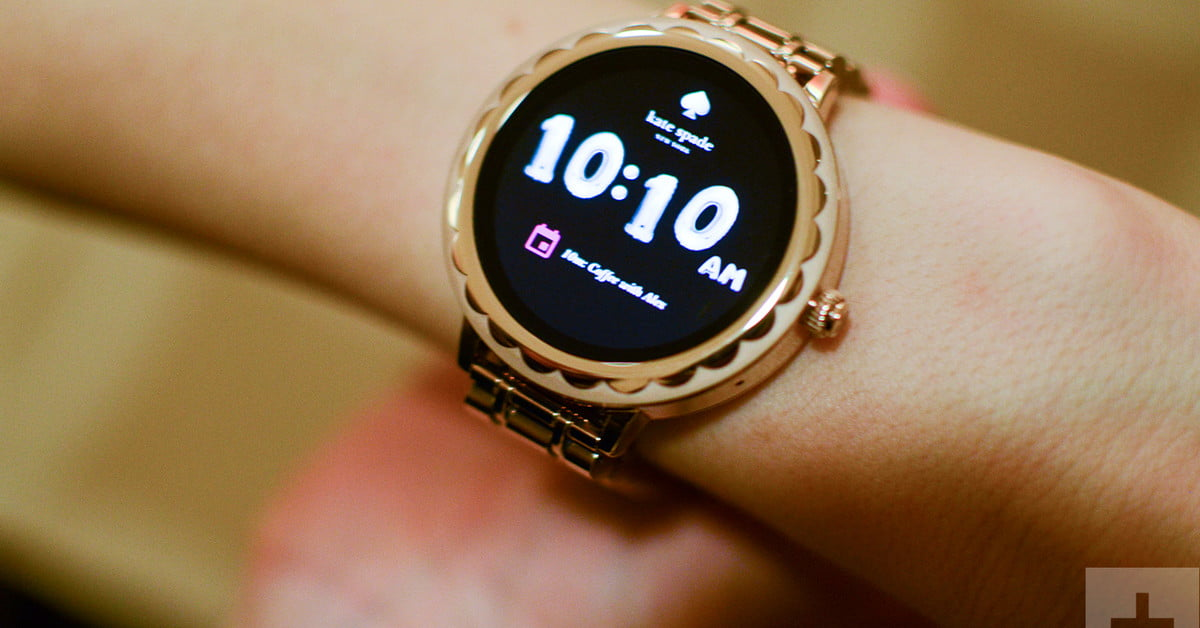 Kate Spade Women S Smartwatch Shuns Shrink It And Pink It