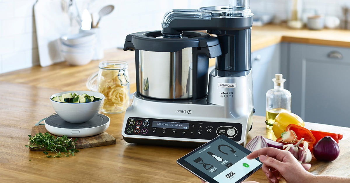 The kenwood kcook is a smart multicooker with a drop scale for Drop kitchen scale review