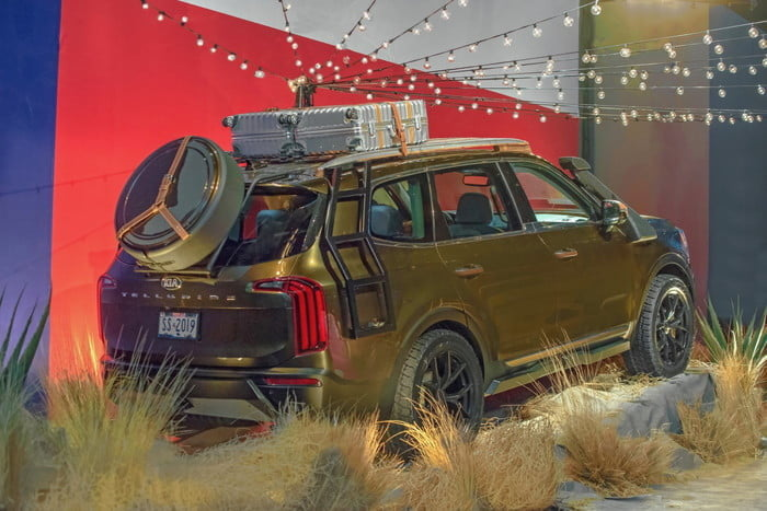 2020 Kia Telluride at New York Fashion Week