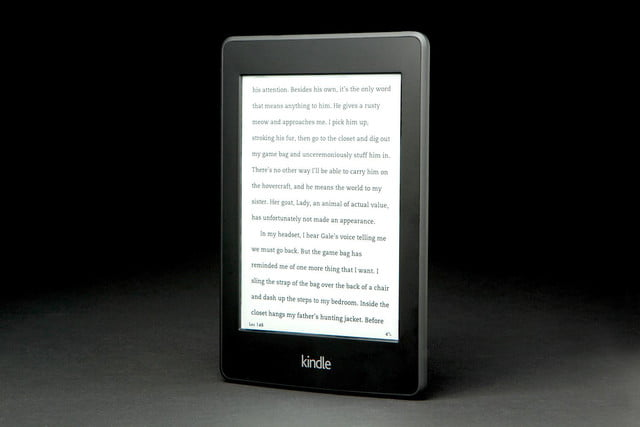 Kindle Paper White front left angle