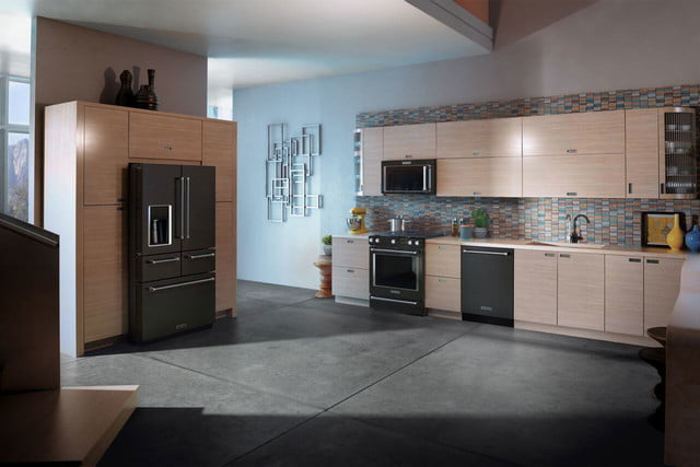 black stainless steel appliances trend kitchenaid collection