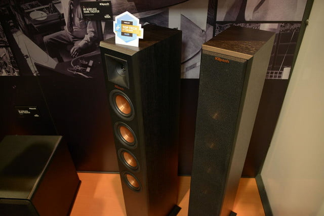 klipsch shows reference premiere wireless home theater system 6791