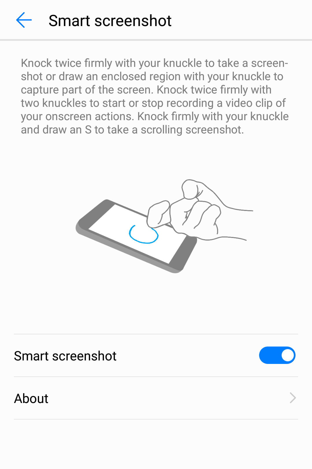 Honor 8 Tips Tricks To Help You Get The Most From Your Phone Computer Diagram With Following Parts Labeled Cpu Monitor Apps Knuckle Gestures 2