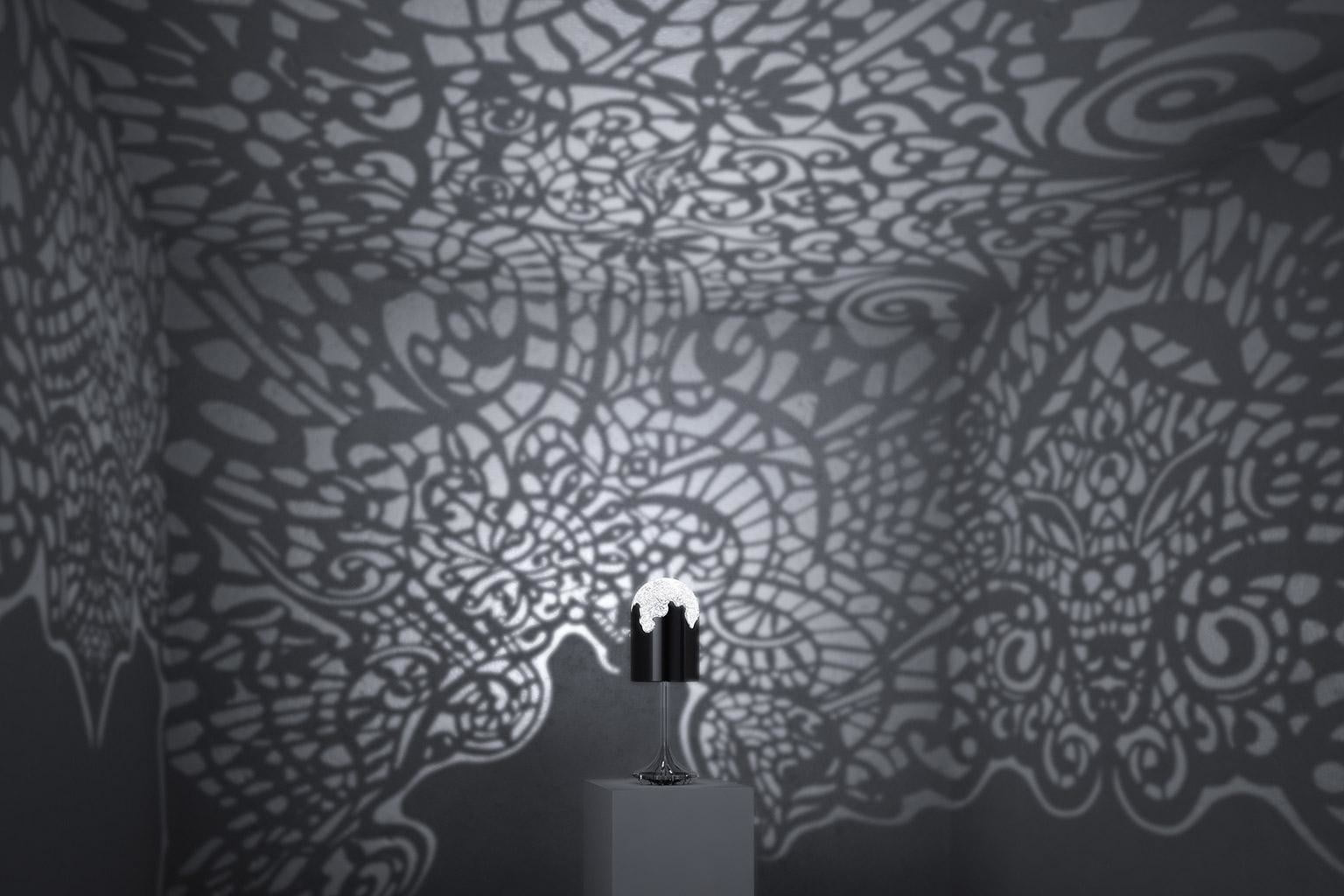 3D printed 'lacelamps' cast wild shadow patterns onto your walls ...
