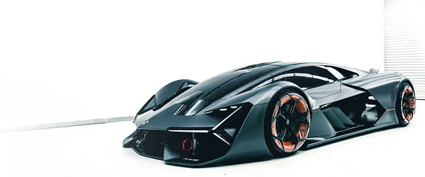 Lamborghini's electric supercar won't contain batteries; it will be one