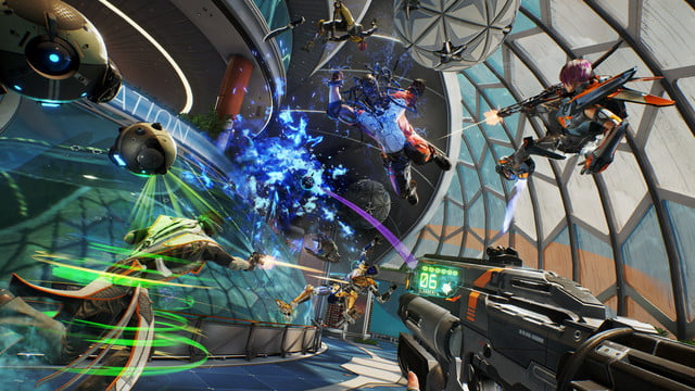 LawBreakers Review chaos and explosions