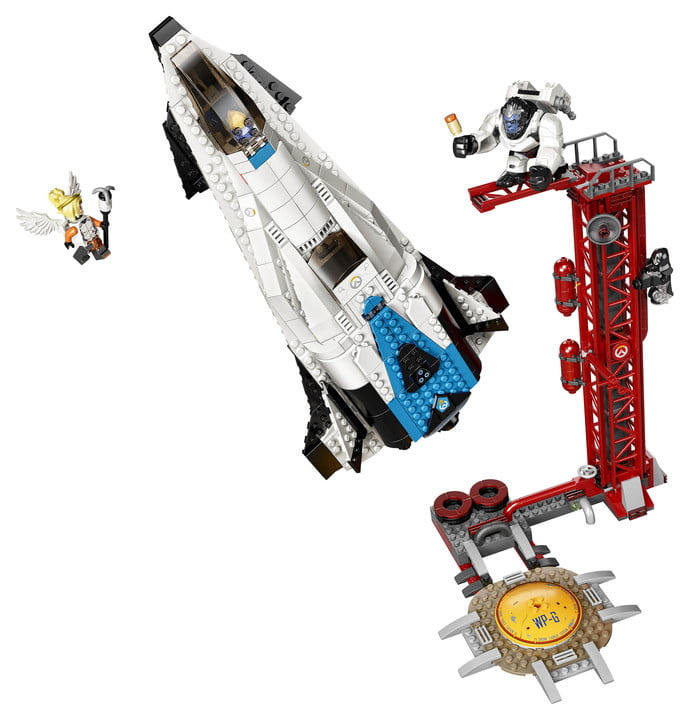 first overwatch lego january legowinstonmercy