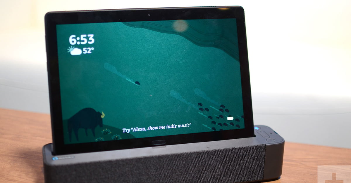 Lenovo Smart Tab Hands On Review Digital Trends