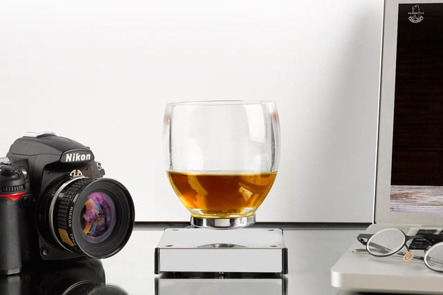 awesome tech you cant buy yet levitating cup mine kaffon levitatingcup  magnetically suspended drinkware