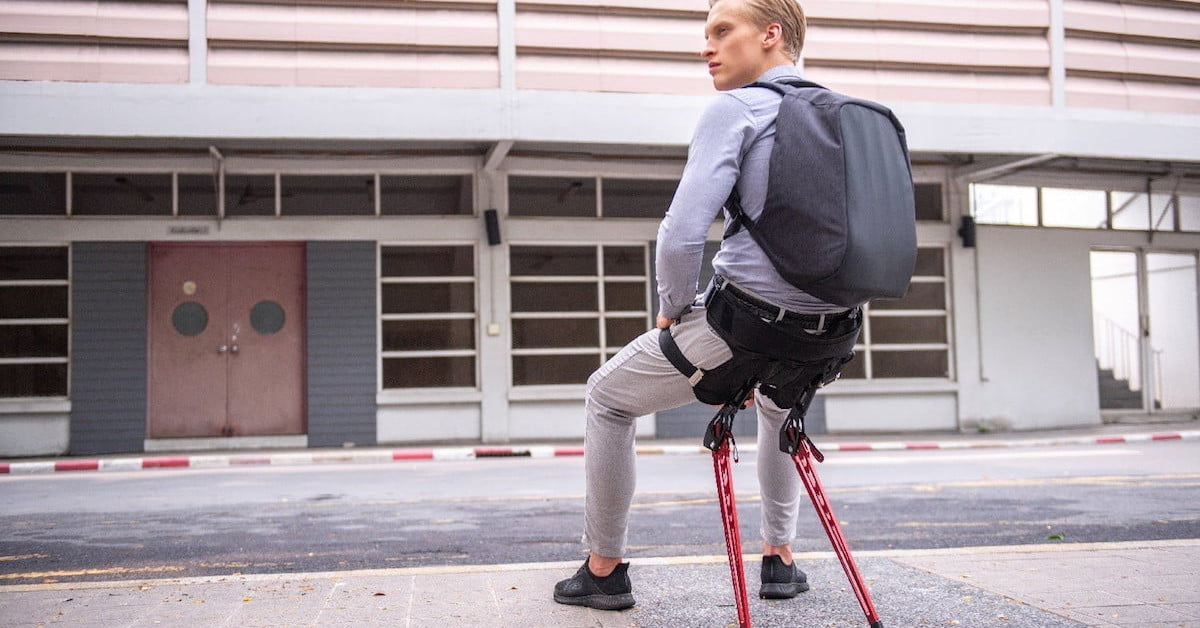 Lex Is A Wearable Exoskeleton That Transforms Into A Comfy
