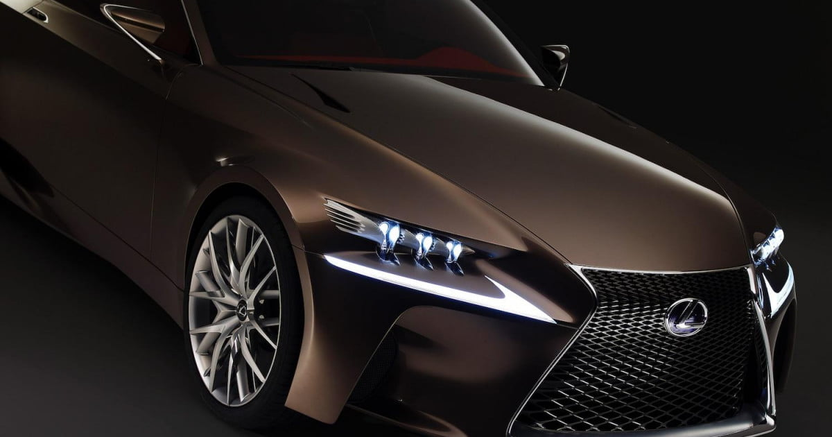 2014 lexus is coupe rumored to draw from lfcc concept plug in hybrid a possibility digital trends. Black Bedroom Furniture Sets. Home Design Ideas
