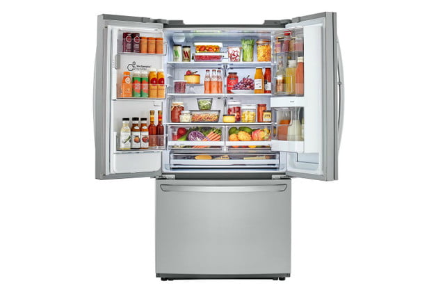 home depot chops samsung and lg french door fridge prices electronics  26 cu ft 3 smart refrigerator with instaview in stainl
