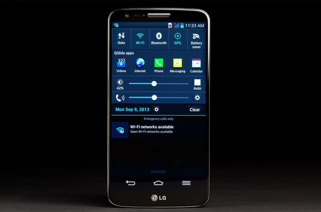 LG G2 Phone front on