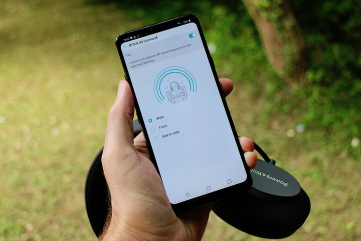 lg g7 thinq audio guide dts x
