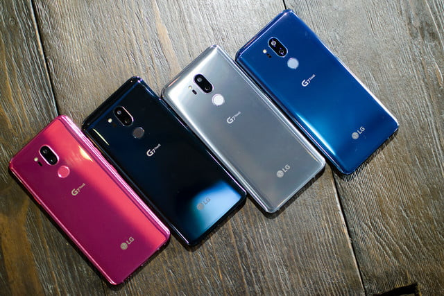lg g7 news thinq hands on colors