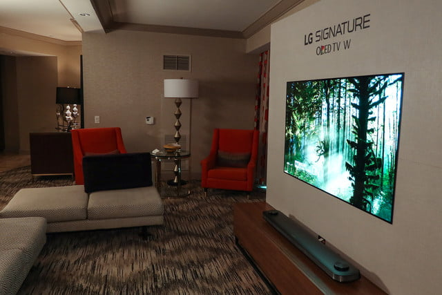 LG Wallpaper OLED TV Costs $8,000, Available For Pre-Order ...