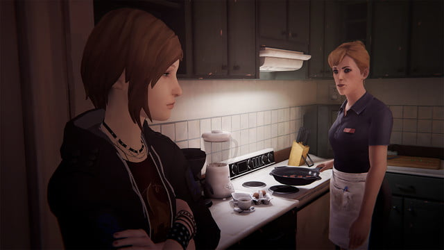 Life Is Strange: Before the Storm interview kitchen