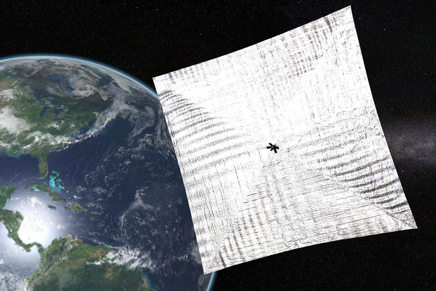 Track Bill Nye's LightSail 2 solar spaceship in real time as it makes history