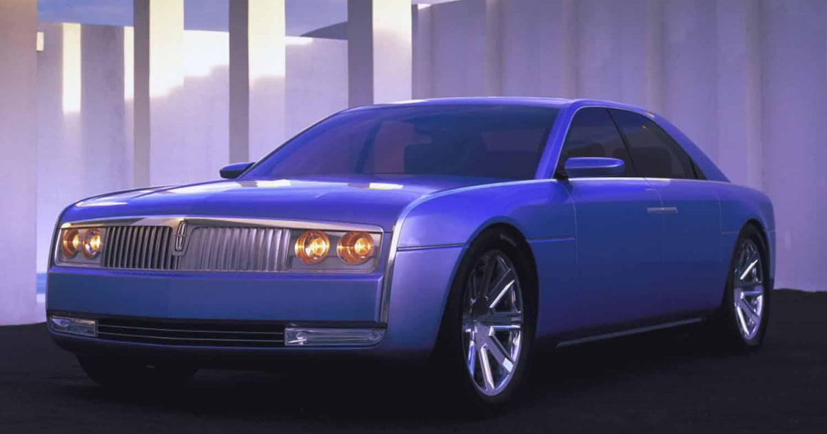 V12 Powered 2002 Lincoln Continental Concept Headed To