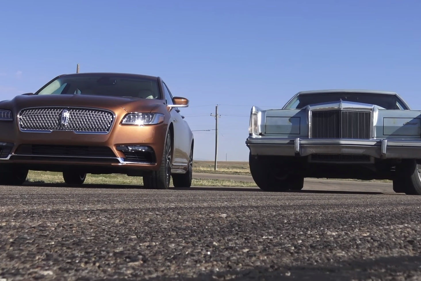 Old Vs New Lincoln Continental Drag Race Video Results Digital