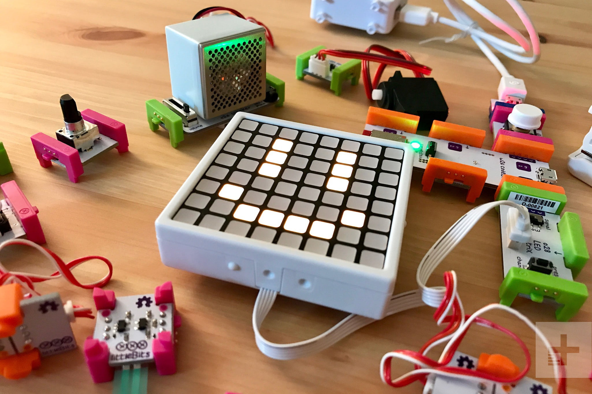 Littlebits Code Kit Is A Simple Fun Way To Introduce Your Child Color Codes Usb And Wire On Pinterest Review 1
