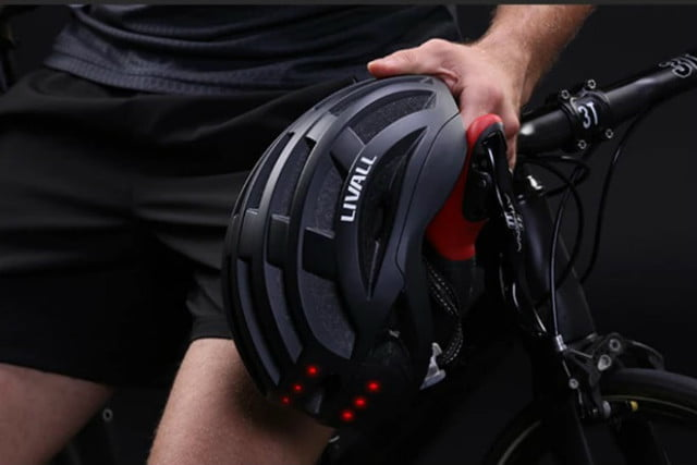 livall smart cycling helmet road and mountain v3 off