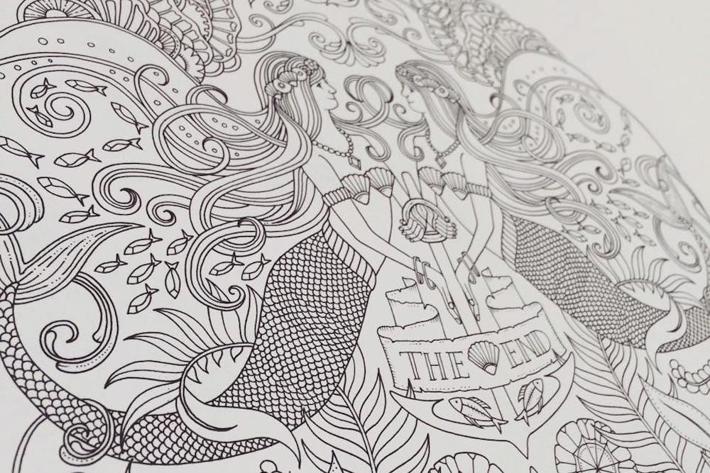 Forget Tech Pick Up An Adult Coloring Book