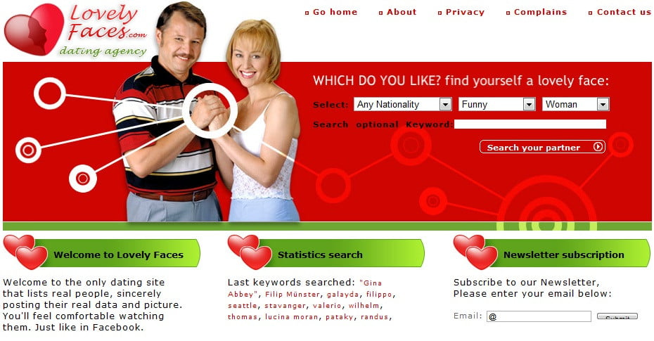 fake dating site profiles windber Now, with valentine's day approaching, we thought we'd focus on a different (but also painful) type of fraud: fake profiles on dating sites the high cost of romance scams.