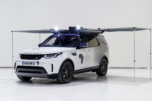 Land Rover Discovery Mobile Malaria Project