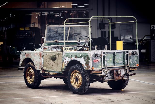 'Missing' 1948 Land Rover