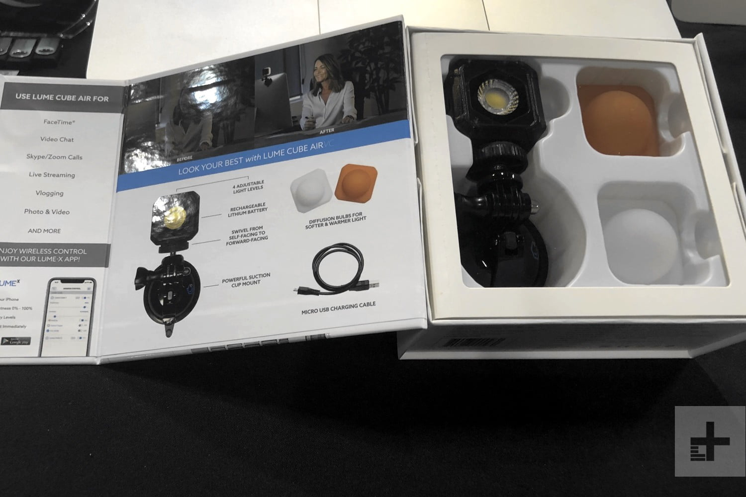 Lume Cube Air VC Is Designed To make You Look Good Livestreaming