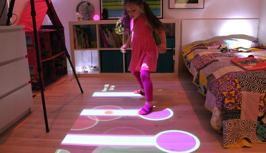 Get Floored With New Portable Interactive Projector For Kids