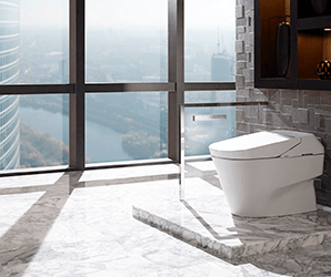 Champagne- colored fridges? Talking toilets? All the appliance trends in 2019
