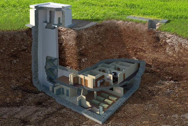 underground home. underground bunker The Facility Is an Underground Bunker Selling for  17 5 Million