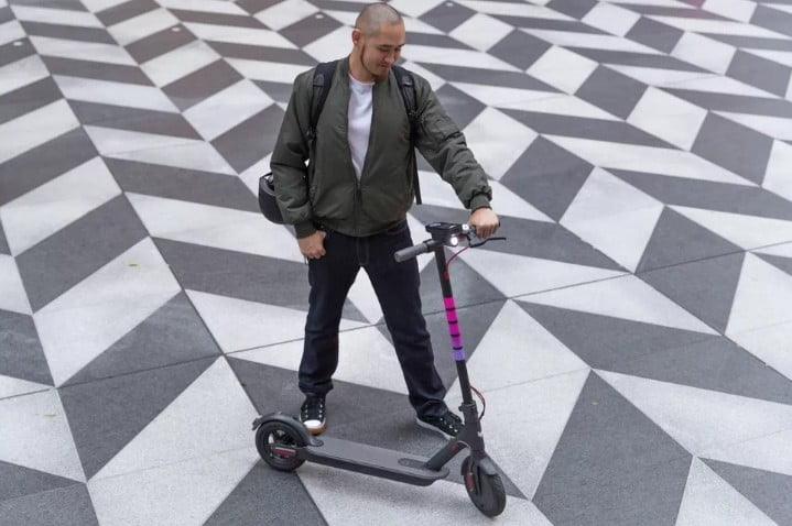 lyft launches its first app based scooter service