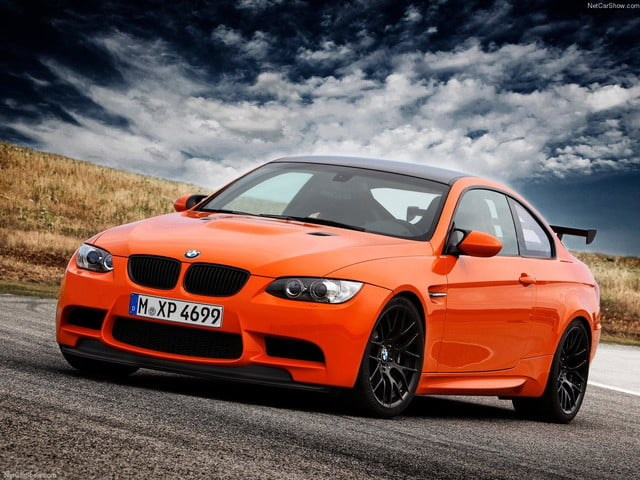 M3 GTS front angle
